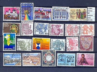 Stamps Lot  Switzerland Used  (L13841)