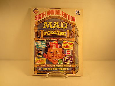 Mad Magazine Sixth Annual Edition of Mad Follies 1968 Edition