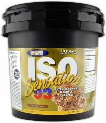 ISO SENSATION 93 ULTIMATE NUTRITION PROTEINE DEL LATTE ISOLATE 2,2 Kg Chocolate