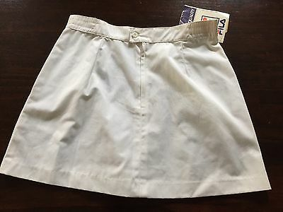 Vintage FILA Tennis Rock Skirt Made In Italy. 1980's. Size D40 Womens