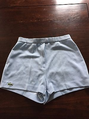 Vintage Lacoste Tennis Shorts. Made In France 1980's. Size 42 Casual