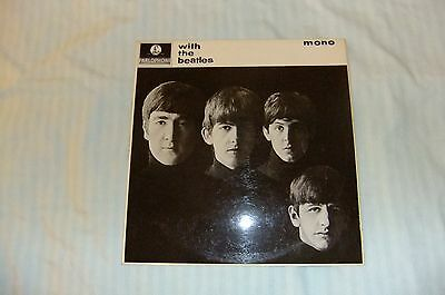 The Beatles - With The Beatles UK Mono Yellow and Black Parlophone