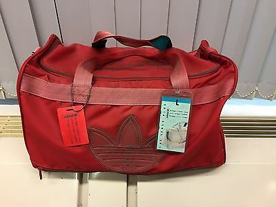 Vintage Adidas Las Vegas Training Bag 90's Rare.Made In Rep Of Korea Deadstock