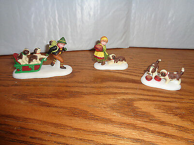 Department 56 - Heritage Village - New Batch Of Christmas Friends - #56175 New
