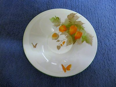 Shelley Art Deco Butterfly And Chinese Lantern Pattern Saucer