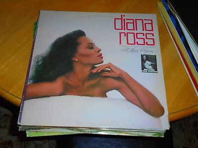 Lp/ Diana Ross /to Love Again (1981 Uk Mowtown /with Poster