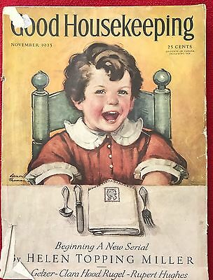 Vintage Magazine - 1935 Good Housekeeping
