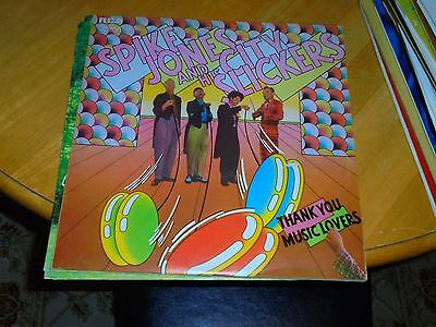 LP/ SPIKE JONES & HIS CITY SLICKERS /THANK YOU MUSIC LOVERS (1970s UK RCA VICTOR