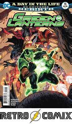 Dc Rebirth Green Lanterns #15 First Print New/unread Bagged & Boarded