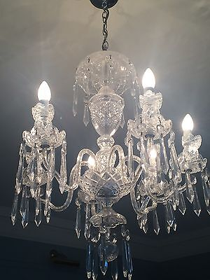 Authentic Waterford Crystal Chandelier