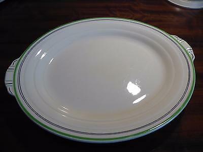 Art Deco Pretty Grindley Meat Plate Small Size - Ideal for Chicken!
