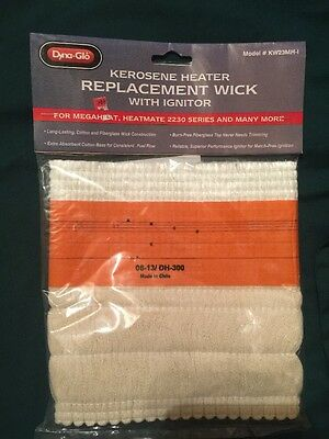 Dyna-Glo Kerosene Heater Replacement Wick & Ignitor  KW23MH-1  DH-300