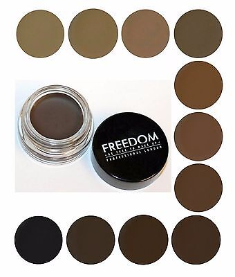 Freedom Makeup PRO BROW POMADE Long-Lasting Dipbrow Eyebrow Gel Tint NEW IN!
