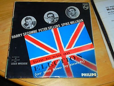 Lp/ Spike Milligan ,p. Sellers ,h. Secombe /how To Win An Election(1964 Original