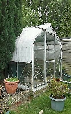 nice shape greenhouse 8x6