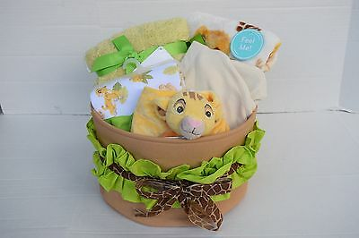 Disney Baby: The Lion King: Simba- 6Pc. Baby Gift Basket