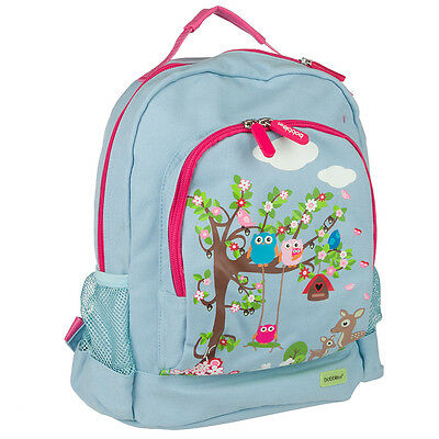 NEW Bobble Art Woodland Animals Canvas Backpack