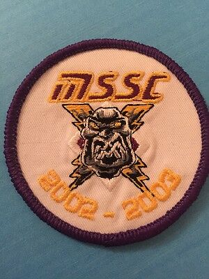 Manchester Storm Fabric Badge 2002/2003