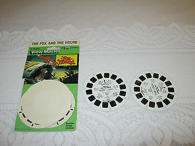 ViewMaster reels 2 Fox and the Hound 1980 Vintage View master