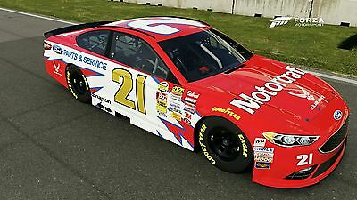 Ricky Rudd #21 Motorcraft race used sheet metal Wood Brothers  Nascar
