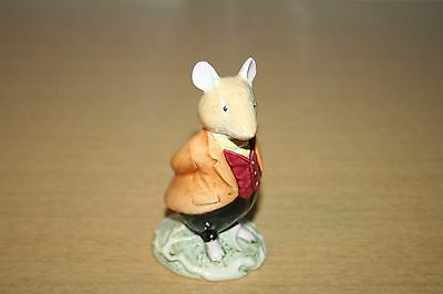 Royal Doulton LORD WOODMOUSE figurine Brambly Hedge 1982