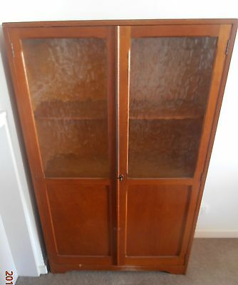 Lovely silky oak cabinet for sale due to downsizing.