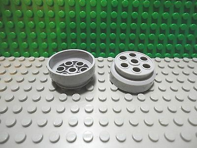 Lego X6 Light Bluish Gray Large Aircraft Engine Jet Air Plane Parts Lot 4x5x3