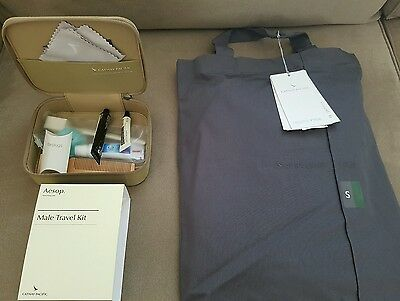 Cathay Pacific Aesop Male first class amenity kit