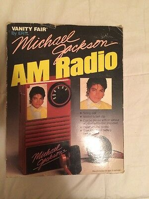 Michael Jackson 1984 Vanity Fair AM Radio