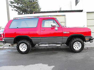 1970 Dodge Ramcharger GOOD DODGE RAMCHARGER 1993