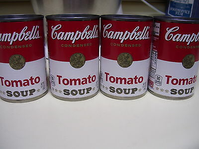 Lot Of 12 Campbell's Condensed Tomato Soup 10.75 oz Cans EXP 1-2018