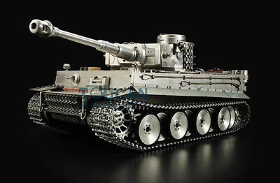 HengLong RC 1/8 100% Metal Tiger I RTR Tank 3818 The Power Can Pull A Small Car