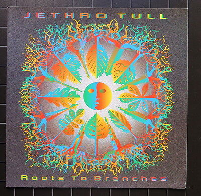 Jethro Tull Roots To Branches Tour programme 1995-96 Ian Anderson Martin Barre