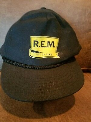 """R.E.M. """"Out Of Time"""" Promotional Hat"""