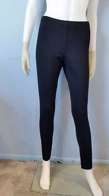 Grace Elements Skinny Black Leggings Stretch Casual Womens Workout Pants S