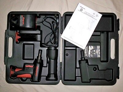 "SNAP ON Tools 7.2V 1/4"" Drive Cordless Screwdriver Set CTS561 w/ Case LOOK"