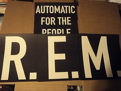 REM AUTOMATIC FOR THE PEOPLE Promo Only Album Flats
