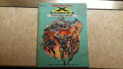 TSR Marvel: MHR1: X Forces Campaign Book