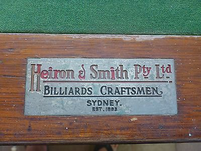 "Heiron & Smith 7 x 3' 6"" Slate Snooker/Pool Table includes accessories"