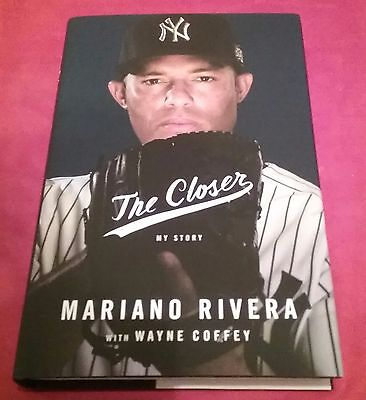 Mlb Yankees Mariano Rivera Autographed Signed The Closer Book Steiner Coa Jsa
