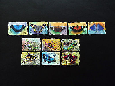Australian Butterflies  1998 and 2003 Bugs And Butterflies complete issue