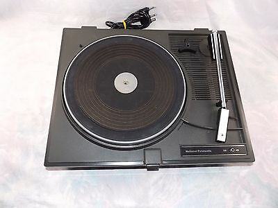 Vintage National Panasonic SH-74 Turntable for 1970s Stereo Player Unit