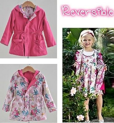 TRENCH REVERSIBLE niña 11/12 años. Gabardina.Girls Trench coat.Trenchcoat.Veste