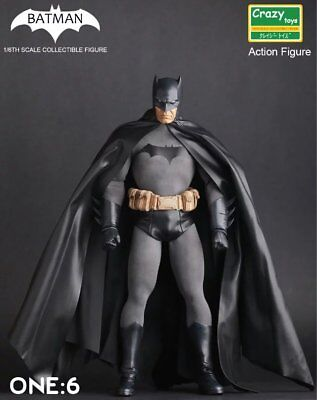 Crazy Toys Dc Comics Batman 1/6Th Collectible Action Figure Statue New In Box