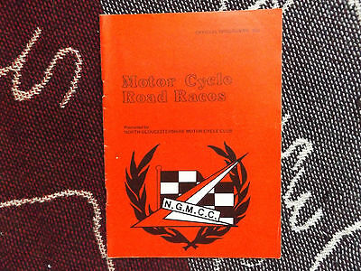 1982 Castle Combe Programme 27/3/82 - Motor Cycle Road Races