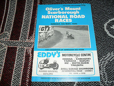1982 Olivers Mount Motor Cycle Programme - National Road Races