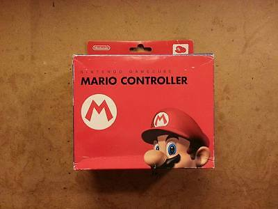 Official Club Nintendo Red Mario GameCube Controller with Box from Japan