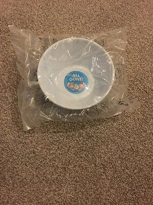 NEW Kellogg's Rice Krispies Plastic Bowl 2011 - Collectable