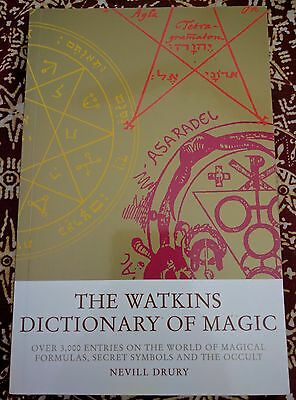 The Watkins Dictionary of Magic - Nevill Drury - Book - New Age