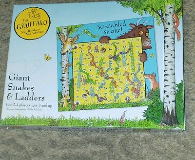 Gruffalo giant snakes and ladders / play mat